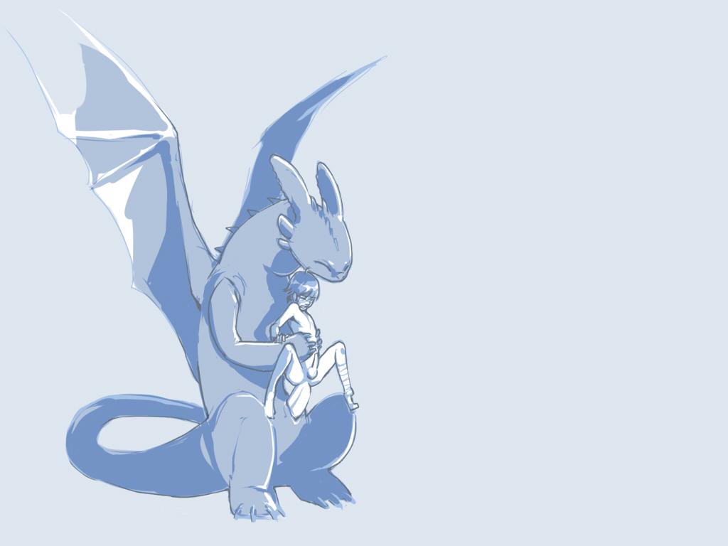 how fanfic dragon sex train to your Penn zero part time hero
