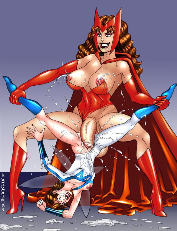 squad super scarlet witch hero Ecchi na onee-chan
