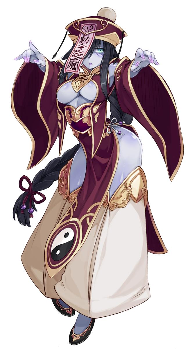 girls/demi-chan monster wa kataritai Yugioh ruin queen of oblivion