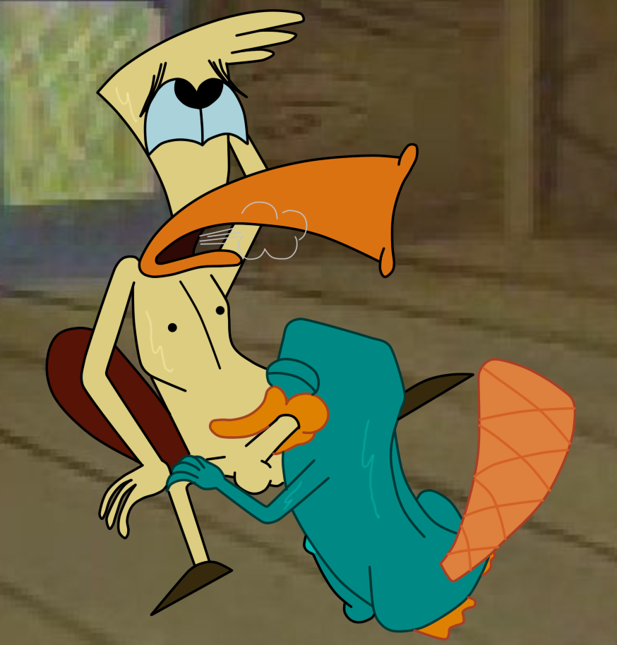 perry the platypus The enigma of amigara fault parody