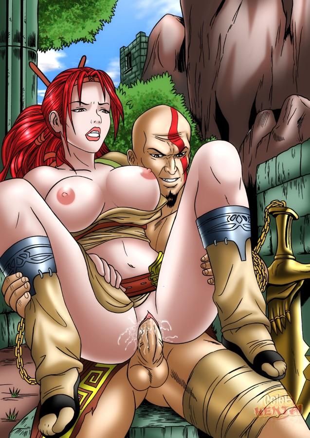 porn of god war freya Acerola orion heart under blade