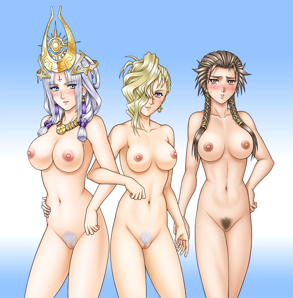 anime purple hair girl black eyes Seikon no qwaser characters list