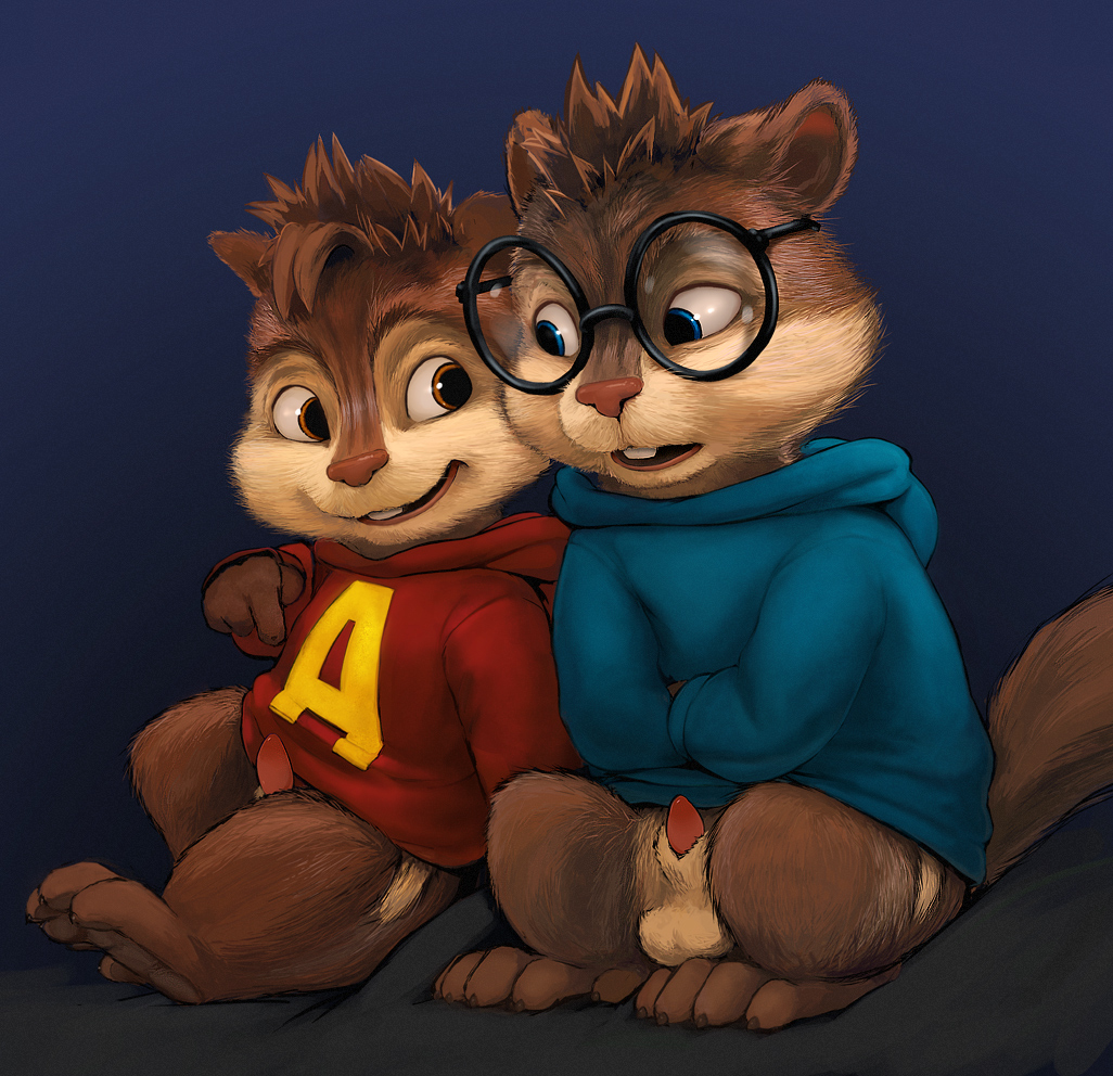 chipmunks and the alvin eleanor Irwin grim adventures of billy and mandy