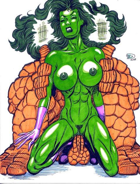 vs hulk hulk she red The duke of death and his black maid