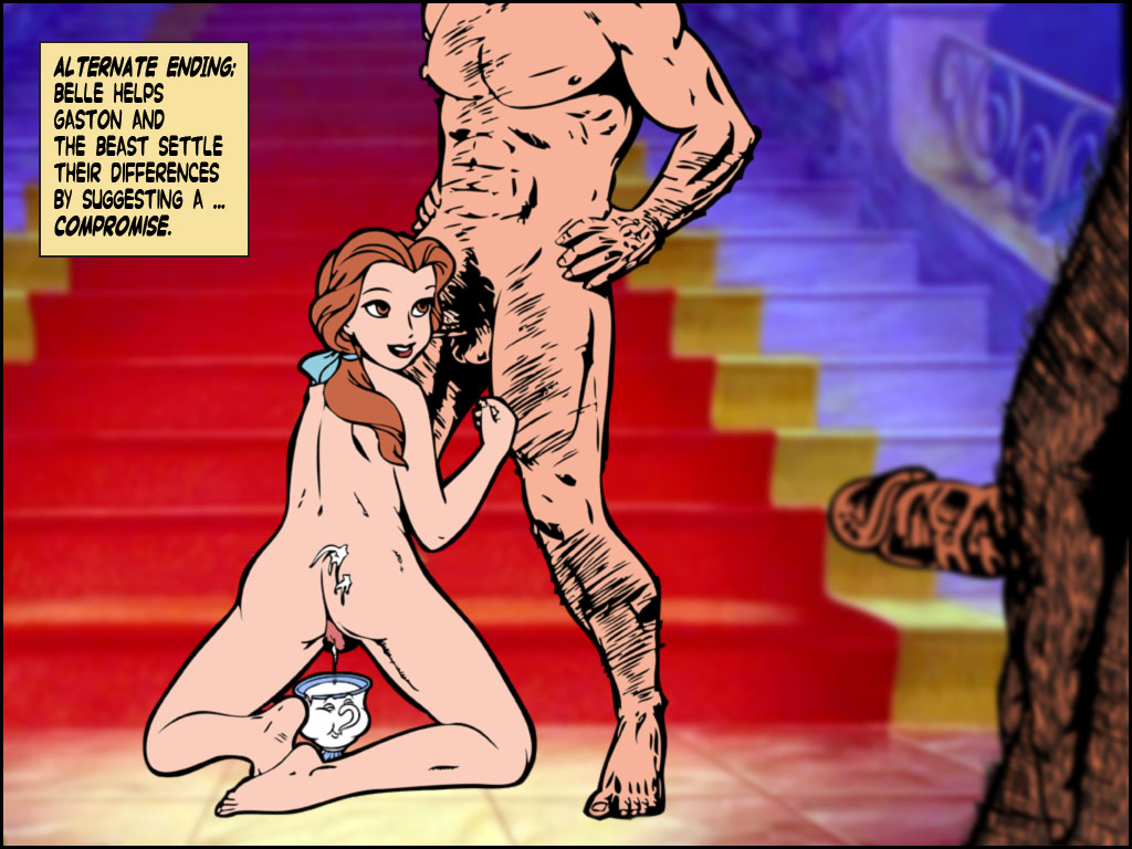 belle beauty and the nude beast Dragon quest 11 king squid