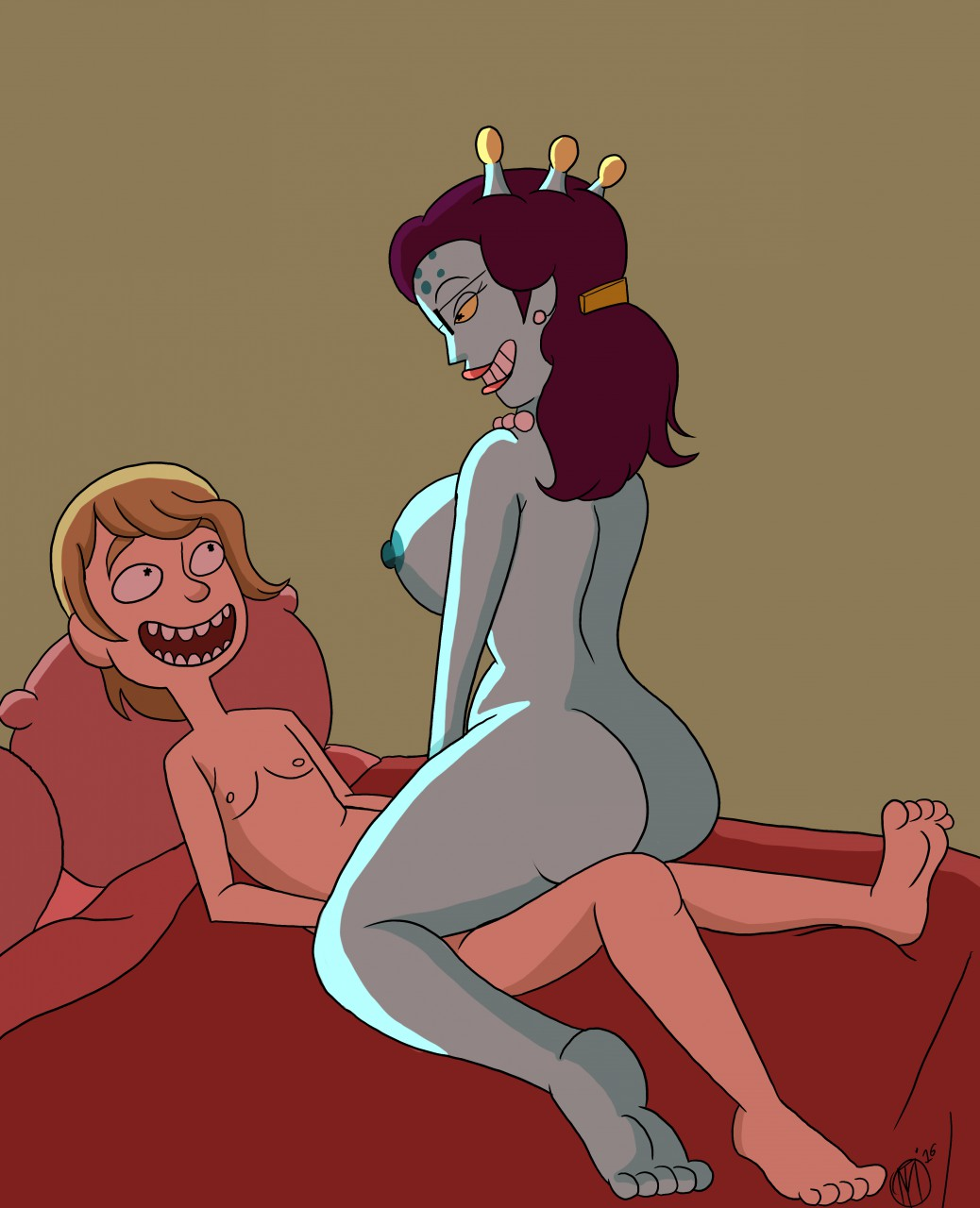 and young morty rick beth Naked pearl from steven universe