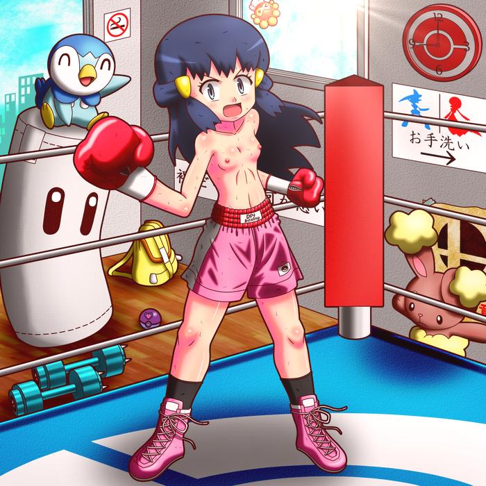 pokemon chespin super dungeon mystery Kanojo wa dare to demo