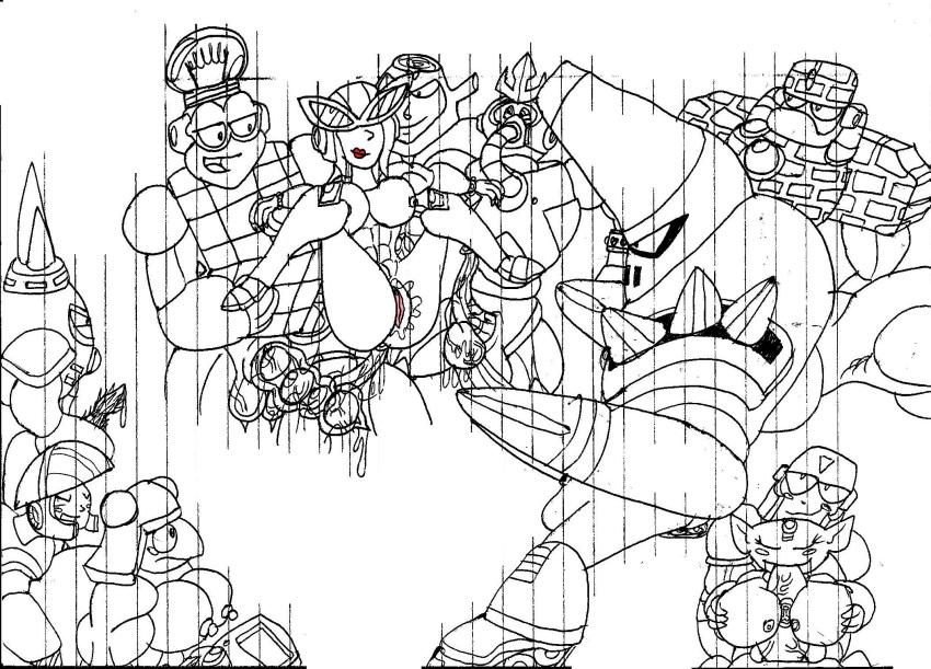 mother man masked claus 3 Bone armor d&d