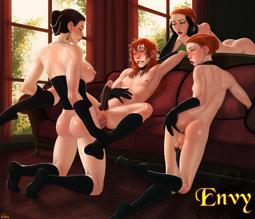 7 diane sins deadly nude Beast boy and raven fanfiction