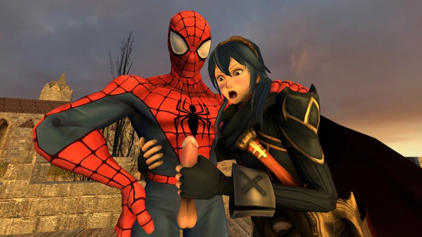 spider man liz peter and spectacular Queen s blade spiral chaos