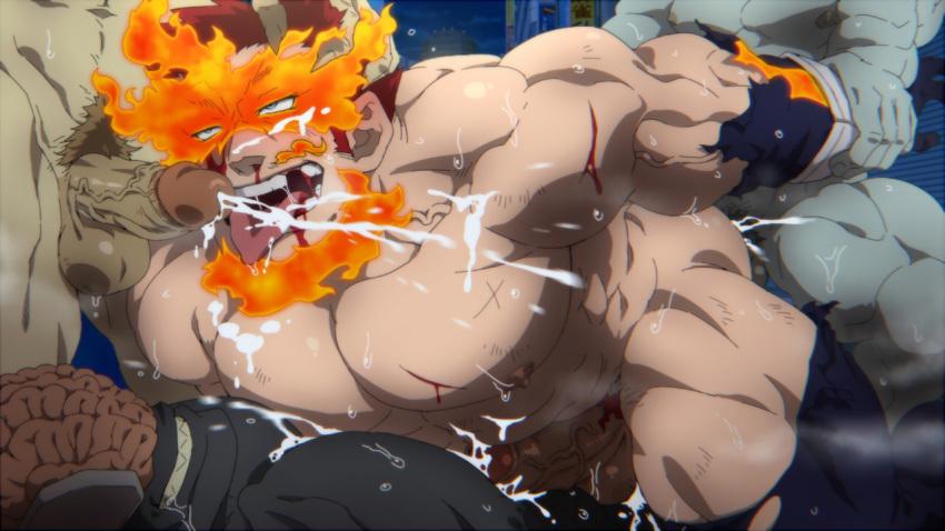 bakugou x my academia midoriya hero Marina splatoon 2