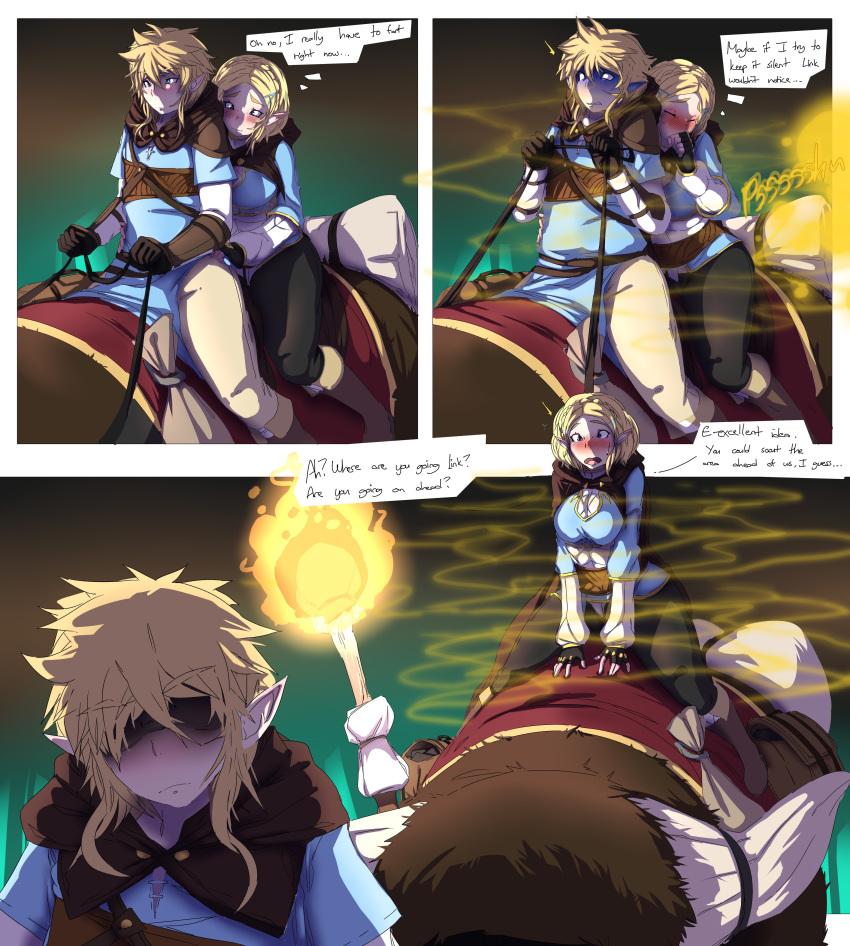 the of underwear breath link wild Dragon ball super 34 manga