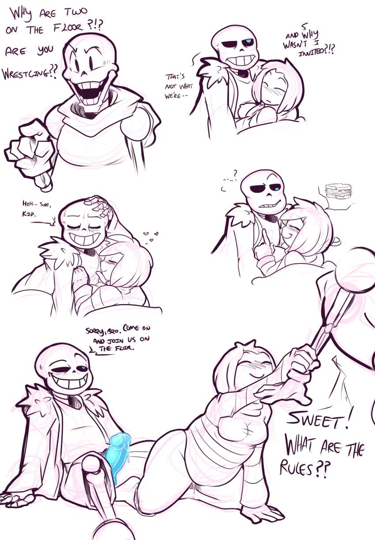 underswap x papyrus sans comic Spider woman ultimate spider man