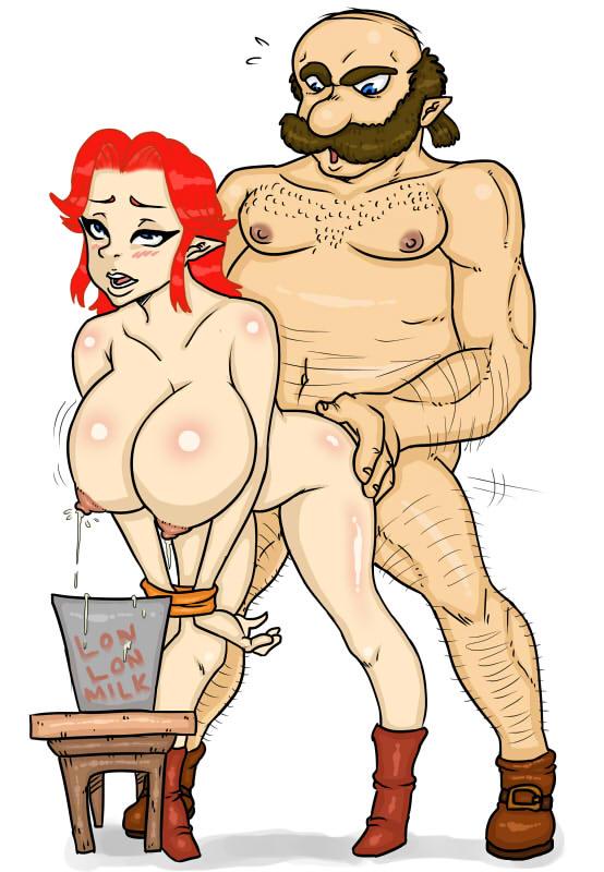 cartoon of link legend zelda Mr friendly half-life