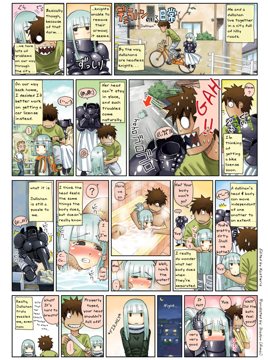 iru musume no monster myanimelist nichijou Shrinking woman out of clothes