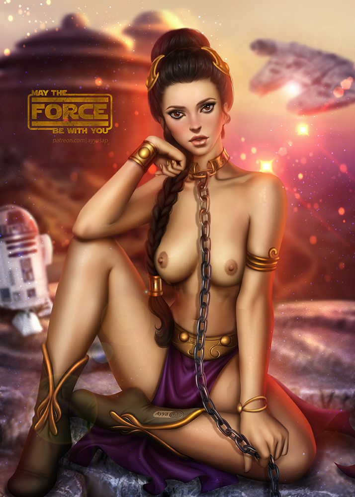 star wars women nude of Cloudy with a chance of meatballs