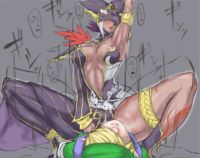 zelda of legend the cdi Tsuujou kougeki ga zentai kougeki de ni-kai