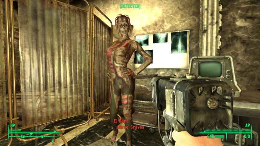 bannon fallout 3 or seagrave Ludwig the holy blade human